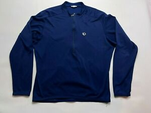 Peral Izumi Cycling Jersey Long Sleeve Mens Medium Blue