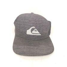 Quicksilver Adult Hat Cap Gray Osfm