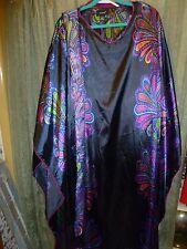 ASHRO dress LONG CAFTAN WITH SCARF/ Belt  Size L / XL