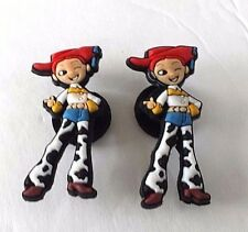 (2) Toy Story Jessie croc shoe charms new