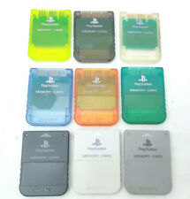 Sony Playstation 1 PS1 Official OEM 15 Block Memory Card Import SCPH-1020