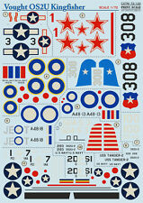 Print Scale 72-122 Decal for Vought OS2U Kingfisher 1/72 scale