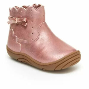 New Stride Rite 360 Yuri Toddler Girls Ankle Boots Size 5