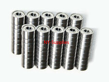 LOT OF 100 Pcs of Ball Bearings 608ZZ Skateboard/inline/hockey