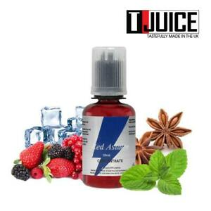 T-Juice - Red Astaire Aroma 30 ml Flavour Concentrate für E-Liquid Mischen