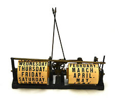 Rare Large Perpetual Calendar Movement for Ithaca Calendar Clock Bank Series etc