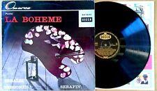 PUCCINI / LA BOHEME - TEBALDI , BERGONZI, SERAFIN - DECCA 20512 - GERMAN LP