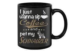 Miniature Schnauzer Dog Coffee Mug, Cup
