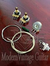 MVG CTS3WK High Quality CTS Guitar Wiring SET - Pots Wire PIO Capacitor HD Jack