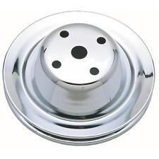 Trans-Dapt 9604 1969-85 Chevy 283-350 SBC V-Belt Chrome Steel Water Pump Pulley