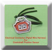 2 Wire Electrical Connector of Crankshaft Position Sensor PC159 Fits:Saab Subaru