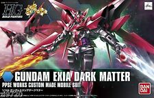 Gundam HG Build Fighters 013 Gundam Exia Dark Matter Custom Made 1/144 Model Kit