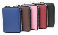 StarHide Women Designer RFID Full Zip Around Small Wallet Coin Pouch Purse 5550
