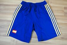 SPAIN NATIONAL TEAM FOOTBALL SOCCER SHORTS 2012-2013 ADIDAS SIZE MENS SMALL BLUE