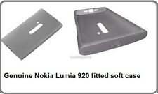 Original Nokia Gris Flexible Suave Funda Protectora Cc-1043 Para Lumia 920 En Caja De Venta
