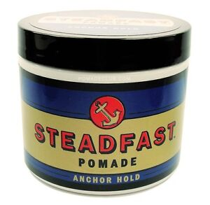 STEADFAST POMADE Anchor Hold 4oz Very Strong Pomade Greaser  NEW
