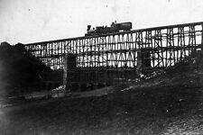 New 5x7 Civil War Photo: Bridge Over Potomac Creek, Fredericksburg Railroad