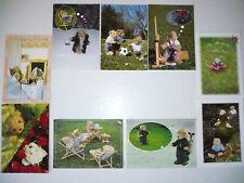 Lot  9  Cartes Postales   LES PETITES MARIE   Collection  Nounours   Postcards