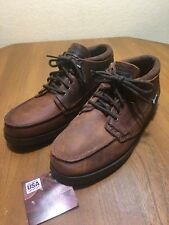 Eastland Albany Bomber Womens 7.0 D Brown Leather Ankle Shoes Boots 8243 New!