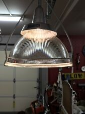 "(1) Vtg Holophane 19"" Industrial Kitchen Island Shade Warehouse Gymnasium Light"