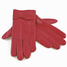 0d7e05e28828b Ladies Women Soft Sheepskin Real 100% Leather Gloves with lining Driving  Winter