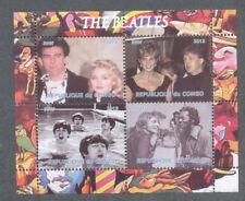 The Beatles min sheet-Chuck Berry-Madonna-Princess Diana-cto/fine used