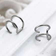 Punk Rock Clip-on Earrings Non-piercing Cartilage Cuff Eardrop Ear Clip Jewelry