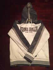 Lonsdale London White And Gray Small Hoodie. TL8