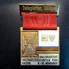Hallenradsport-WM 1968. UCI/BDR. KASSEL. Delegierter/Delegue