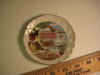 Missouri Ozarks Souvenir Saucer / Small Display Plate with Landmarks
