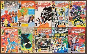 10 The Amazing Spider-Man #276,277,278,279,280,281,282,283,284,285 Marvel Comics