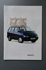 UK Sales Brochure Renault Range 1991 GTA Alpine 21 Turbo, GT Turbo 5, Espace