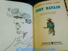 *Jean Giraud 'Moebius' Signed w/Sketch* Fort Navajo. Un Jean-Michel Charlier (A Comic Art