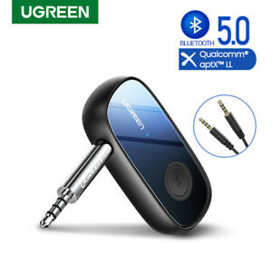 Ugreen Bluetooth USB Receiver 3.5mm 5.0 Wireless Stereo Audio Music Car Adapter