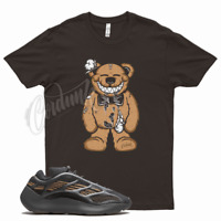 Brown TEDDY T Shirt for Yeezy 700 V3 Clay Brown 350 380 500 Mocha Wheat