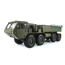 1/12 P803A 8*8 Chassis RC Military Dumper Truck Model Motor Sound Light Radio