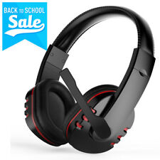 3.5mm Gaming Headset Mic Stereo Surround Headphone for PS4 PC Computer Phone