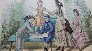 2134/16         1 GRAVURE LES MODES PARISIENNES   before 1900              (2)