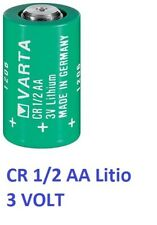Batteria  CR 1/2 AA mezza stilo  LITIO  VARTA 3V   970 mAh