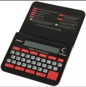 Franklin Electronic Collins Crossword Solver - CWM109