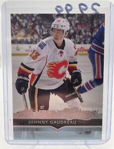 2014-15 Upper Deck Johnny Gaudreau Young Guns #211 Flames