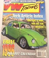 VW Trends Magazine Tech Article Index January 1996 080417nonrh