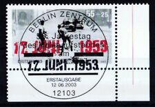 BRD 2003 gestempelt ESST Berlin Eckrand MiNr. 2342  Volksaufstandes in der DDR