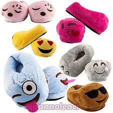 Pantofole bimbo bimba bambini pelouche emoticons antiscivolo babbucce Y-6901