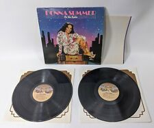 DONNA SUMMER On The Radio NBLP 27191 Vinyl LP Record W/ Poster