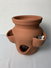 Old Saybrooke 1993 Slotted Flower Pot Pottery Place Bulb Grow Pot