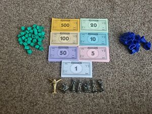 Monopoly Game Disney Edition 2001 Replacement Spares pieces
