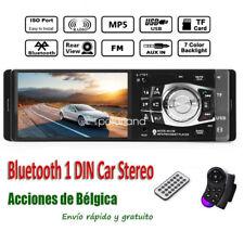 Stereo Control iPhone Car FM/USB Radio Bluetooth MP3/MP4 Player iPod Wheel 4.1''