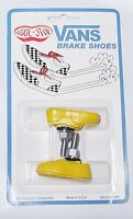 OLD SCHOOL BMX KOOL STOP VANS BRAKE PADS SHOES YELLOW