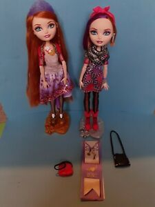 Ever after High Dolls Holly and Poppy O'Hair